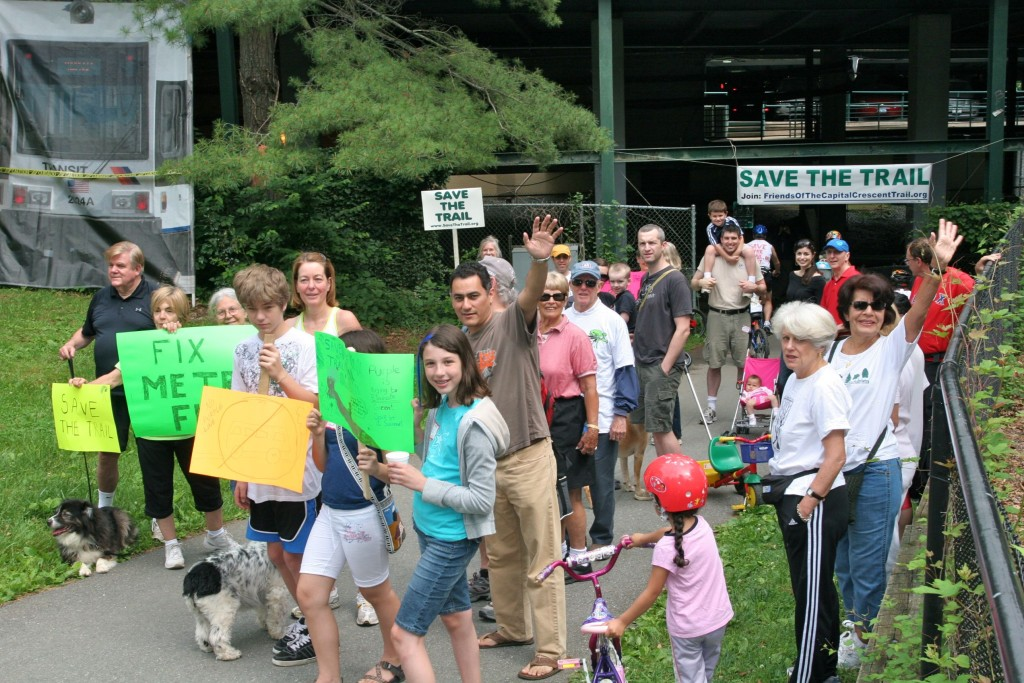 rally to save the trail